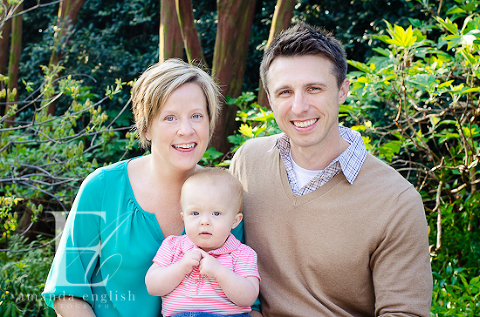 Raleigh Children + Family Photography JC Raulston Arboretum: Beatrix turns one! - Amanda English Photography