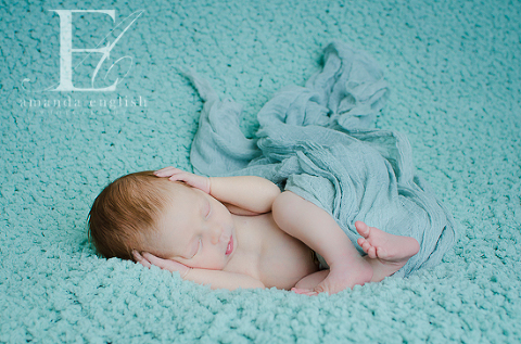 Apex Newborn Photography: Baby Gretchen Noelle - Amanda English Photography