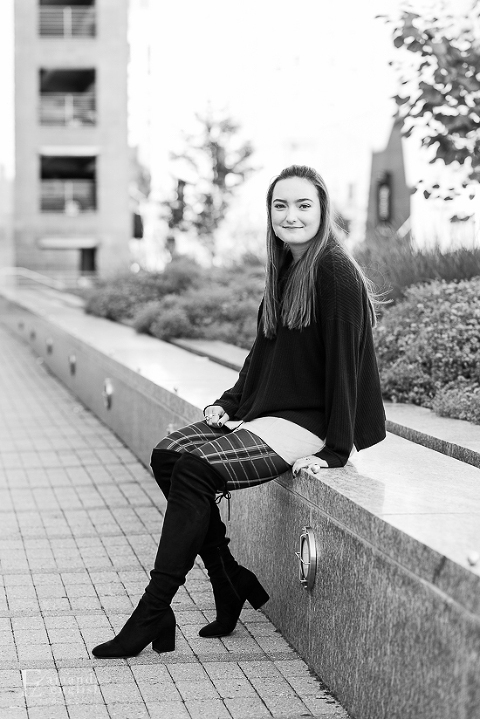 Senior Portrait Raleigh | Amanda English Photography | North Carolina Photographer