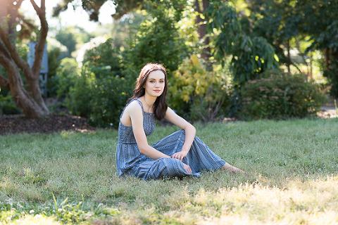 JC Raulston Arboretum | Senior Portraits Apex | Amanda English Photography