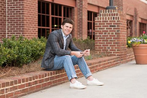 Senior Portraits Chapel Hill NC | Amanda English Photography